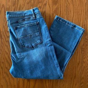 NY&C SoHo Legging Cropped Jeans